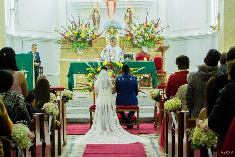Protocolo en la iglesia