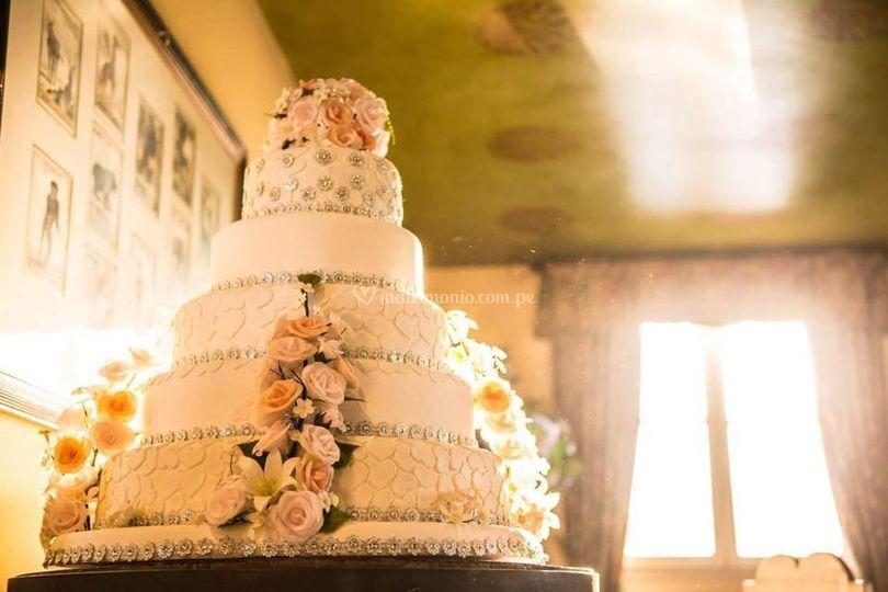 Maqueta y decoracion de torta
