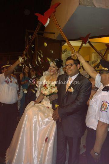 Boda Rosa y Juan