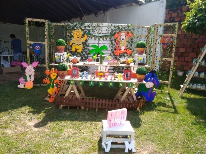 Baby shower al aire libre