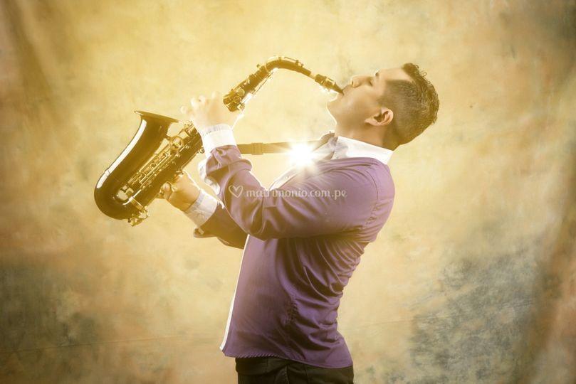 Saxofón Yamaha alta gama