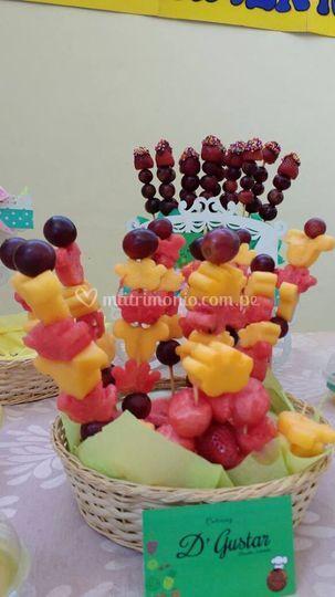 Comida mesa dulce