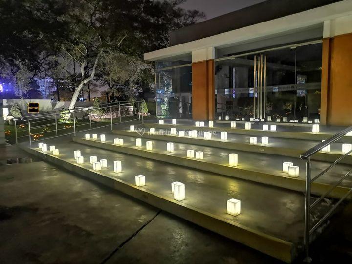Iluminación ingreso