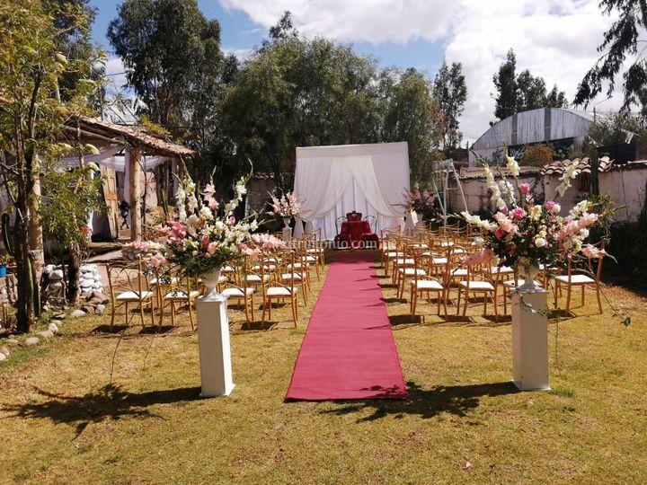 Altares para bodas civiles