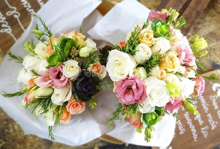 Bouquet principal y lanzar