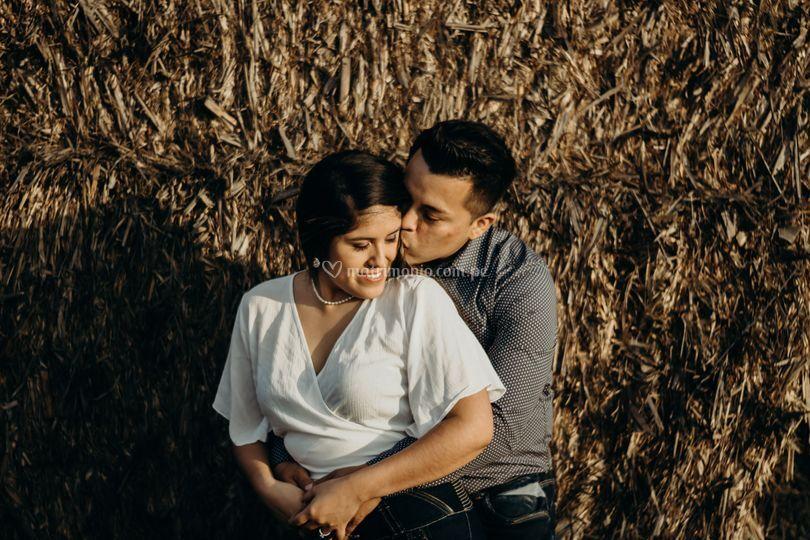 Fotografía llena de amor real