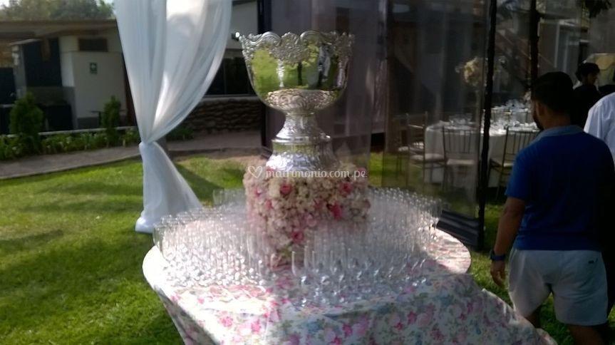 Copa champañera
