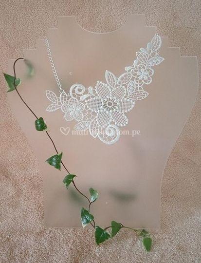 Colección silver floral