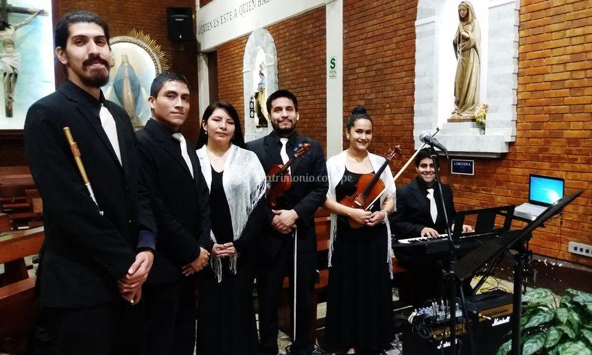 Boda en San Pedro de Chorrillos