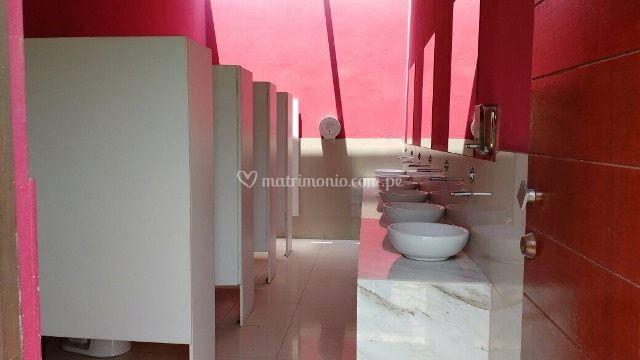 Moderno baño damas