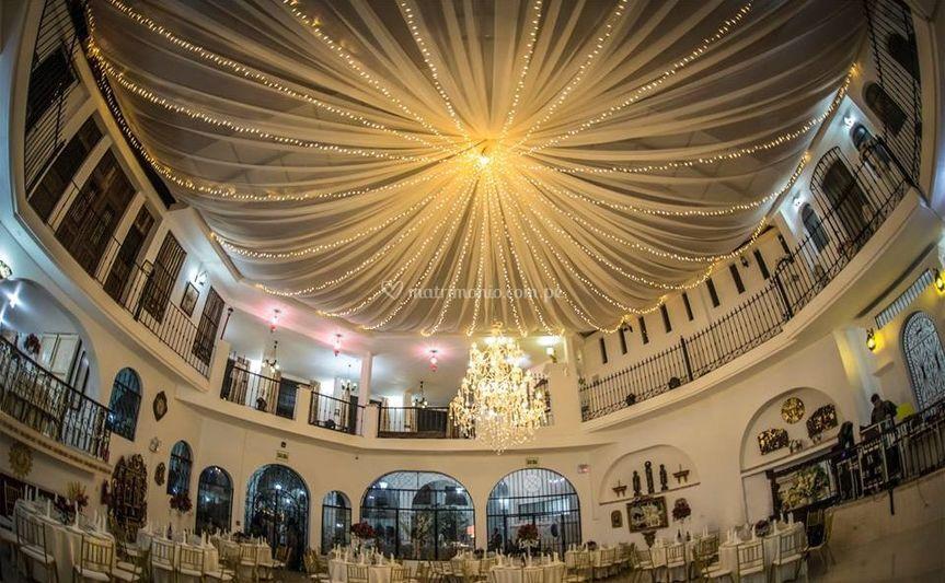 Espectacular salón para tu boda