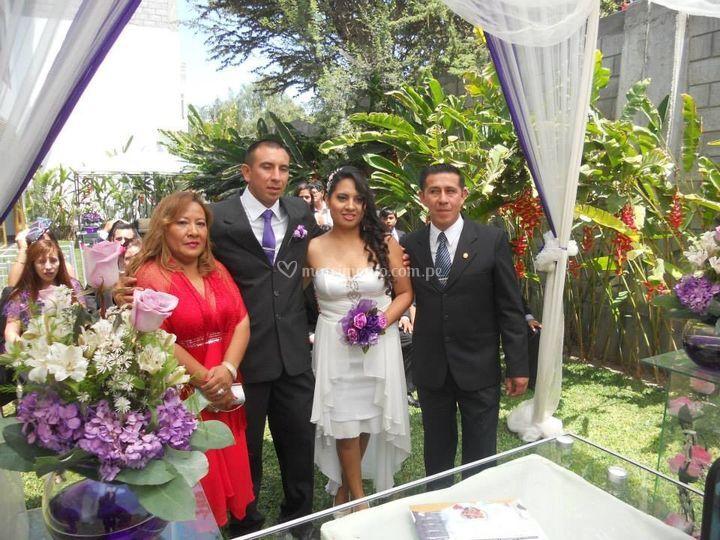 Fotos en familia
