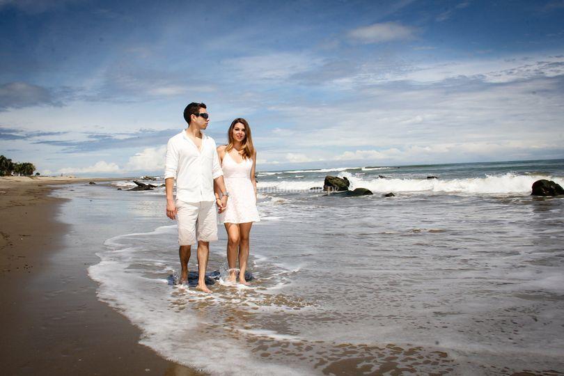 Amor en Punta Sal ©Leigh