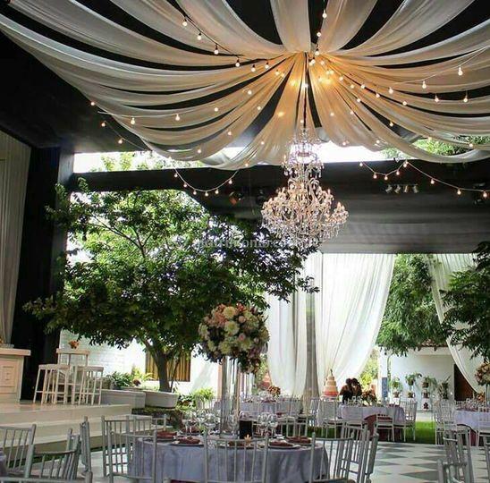 Ambientación para boda