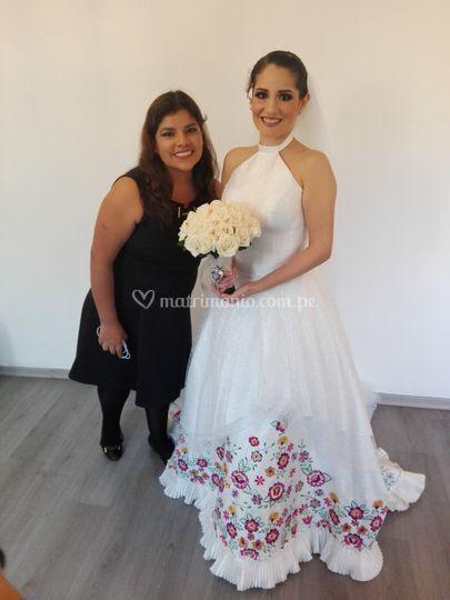 Fotito con la novia