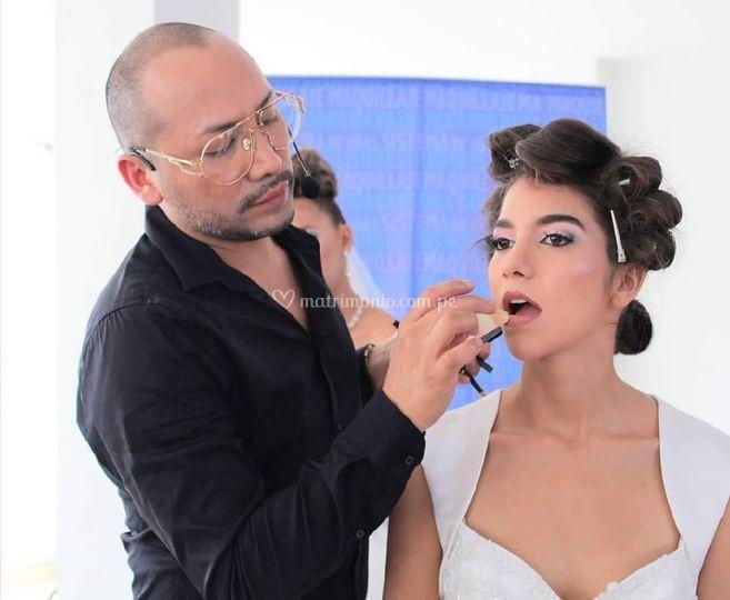 Maquillaje en vivo