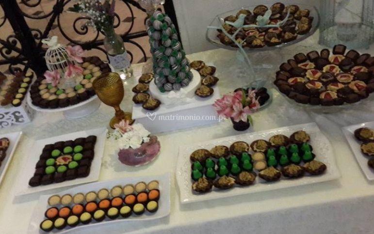 Dulces para la boda
