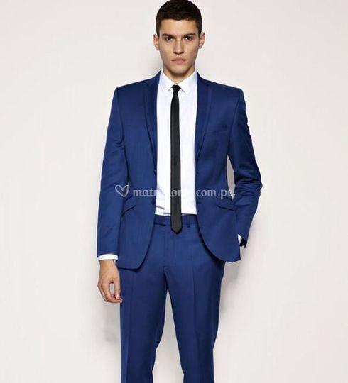 Ternos azul