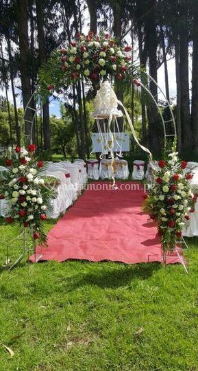 Lugar para ceremonia