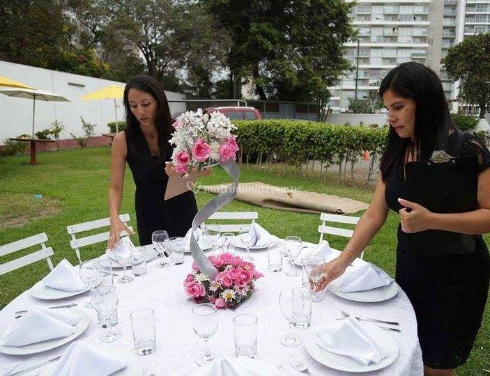 Supervisión de la mesa