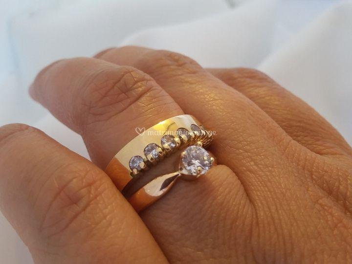 Aros compromiso y bodas