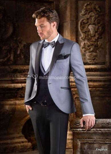 Mefer novios, un traje clásico