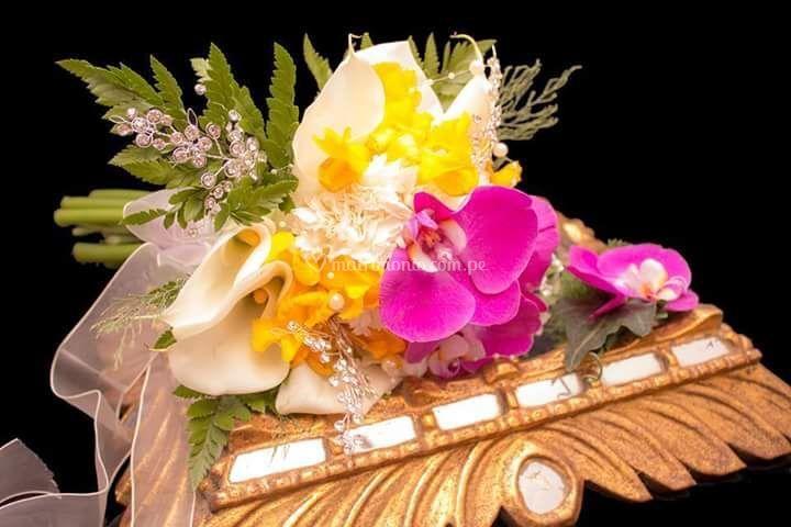 Bouquet Orquidea