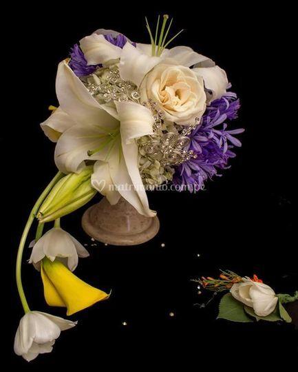 Bouquet lirios