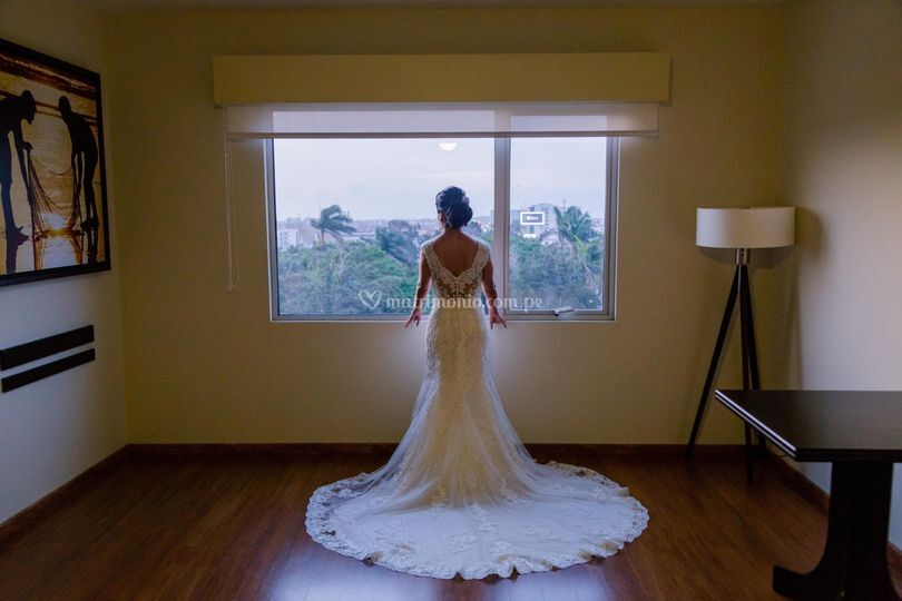 El resplandor de una novia