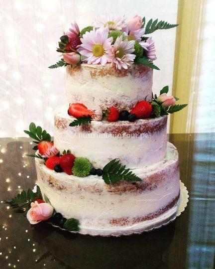 Pastel para matrimonio civil