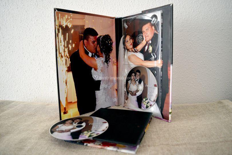 Estuche Book DVD (tapa dura)