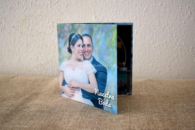 Estuche CD fotografías digital