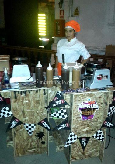 Estacion de waffles