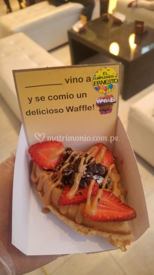 Waffles de todo tipo