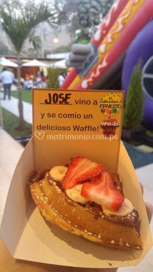 Waffles personalizados