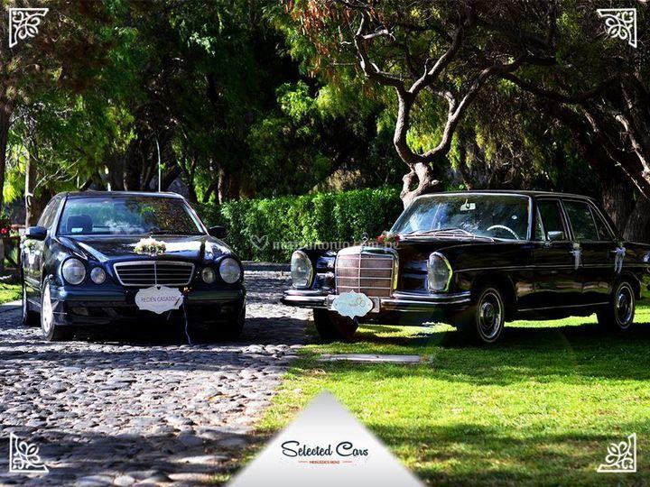 Los dos autos