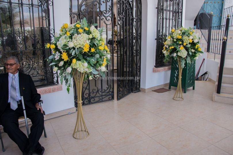 Flores para el ingreso