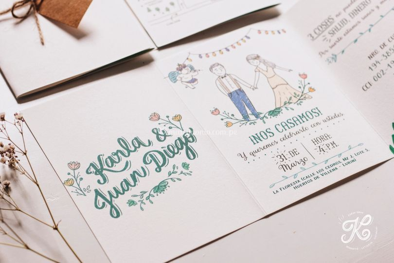 Lettering e ilustración