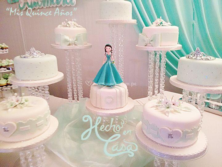 Torta quinceaños