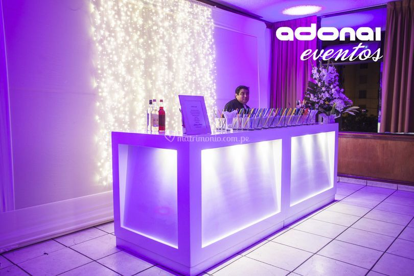 Adonai eventos - Barra bar para salon ...