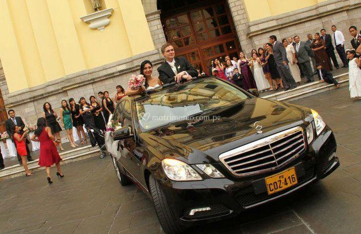 Autos matrimonio de Rigal Limousine Perú