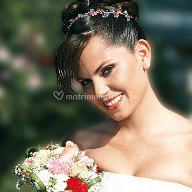 Resaltando la belleza de la novia