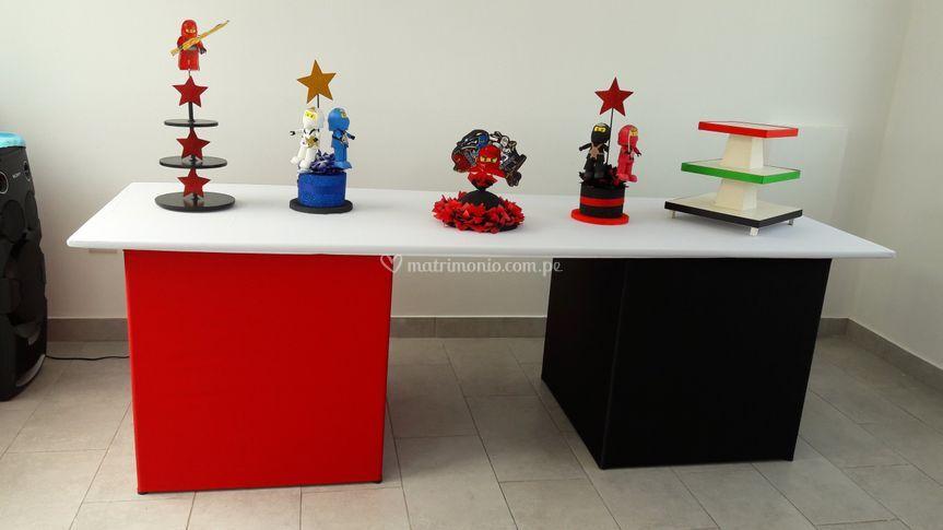 Mesa de buffet infantil