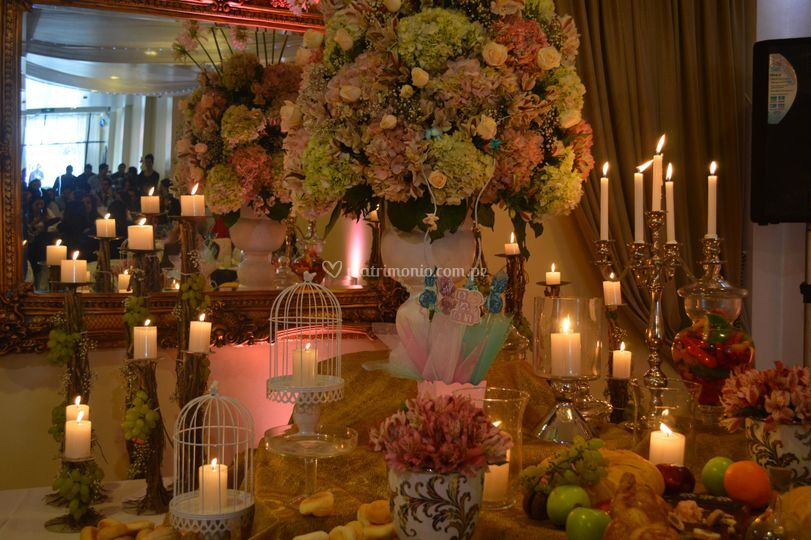 Decoraciones con velas