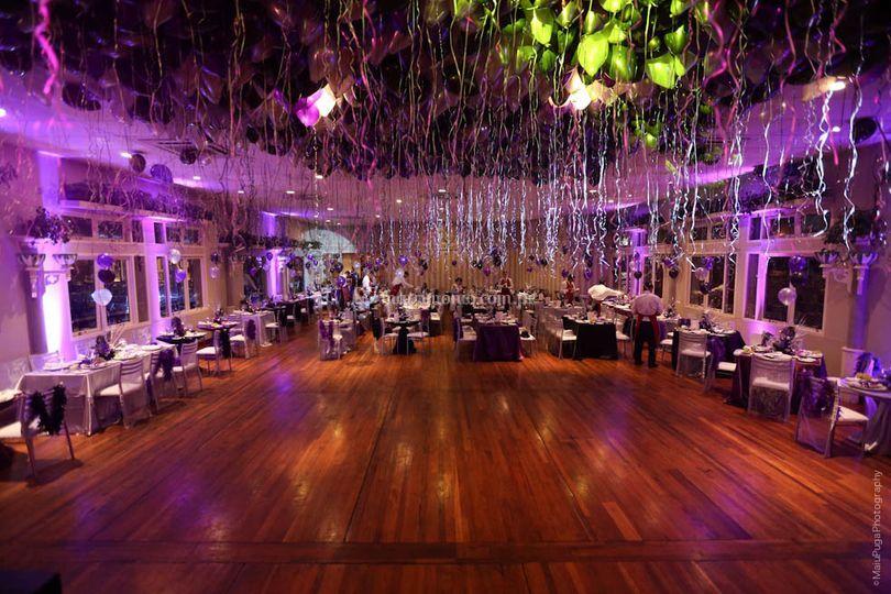 Salón para eventos y fiesta