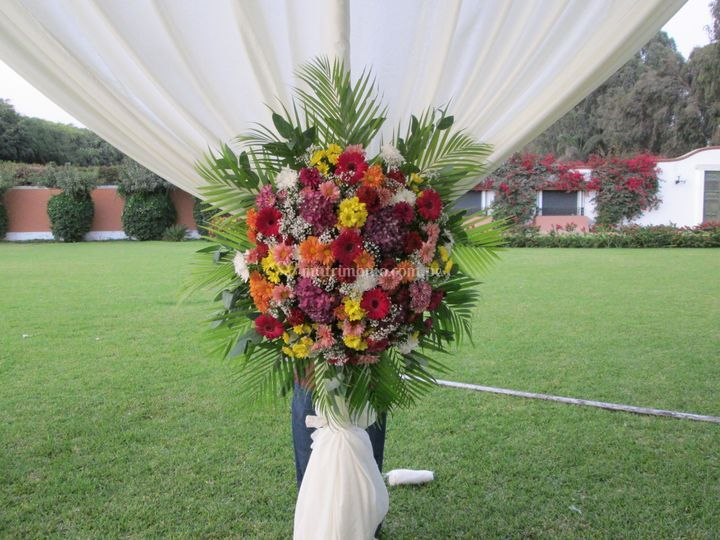 Flores matrimonios campestres