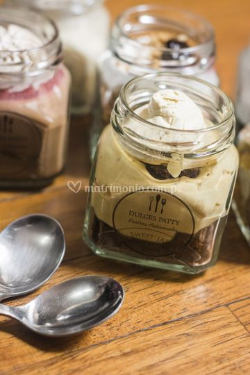 Postre lucumoso con chocolate
