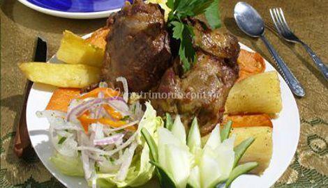 Carnes y ensaladas