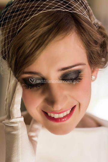Make up de novia vintage