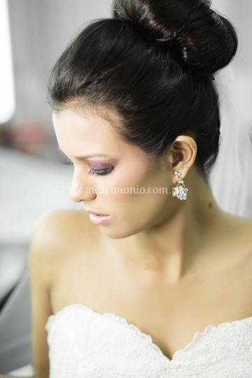 Make up de novia de noche